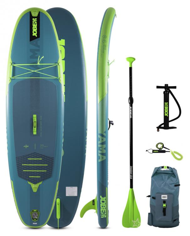 Jobe Yama 8.6 SUP Board Gonflable Paquet (kids)