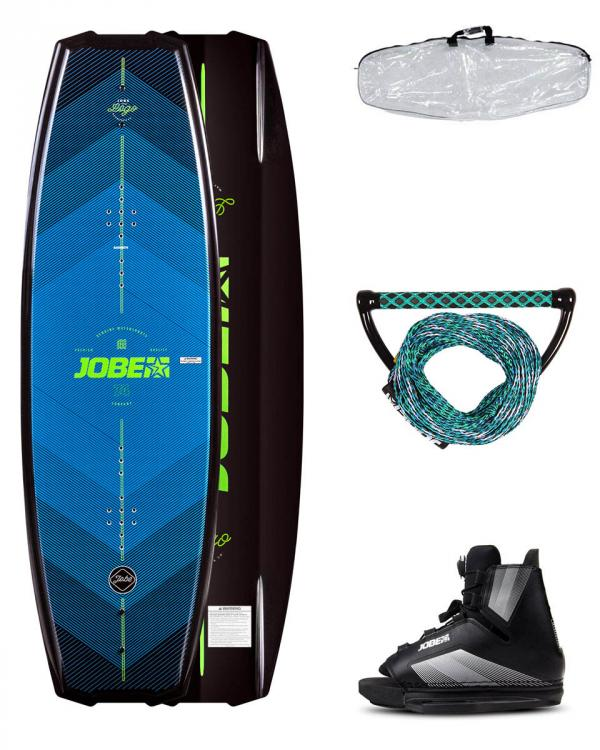 Logo Wakeboard 138 & Maze Bindings Package